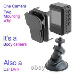 1080P Wifi Police Body Camera Night Vision for Law Enforcement Body Worn Cam
