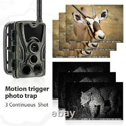 2021 HC-801LTE 4G Trail Waterproof Camera Home Security Hunting Scouting Cam