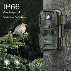 24MP 4K Lite Trail Camera WiFi Hunting Game Cam Bluetooth 3PIR SENSOR IP66