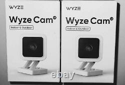3x WYZE V3 Cameras Cam, 1080P, IN STOCK, Star light sensor