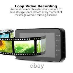 4 Inch Motorcycle Waterproof DVR1080P Dual Lens Camera Dash Cam Driving Recorder