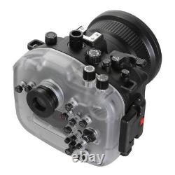 40m/130ft Seafrogs Waterproof Diving Housing Case For Sony A7RIII ILCE-7RM3 Cam