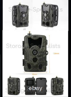 4G Trail Camera Wireless Home Security Cam 3G phone MMS Waterproof Anti Theft