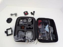 4K Action Camera HD 20MP Helmet Cam 30M Underwater Cameras 170 Degree With KIT W09
