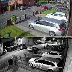 4X Zoom 5MP Wifi IP Camera Wireless Outdoor CCTV HD PTZ Audio Home Security Cam