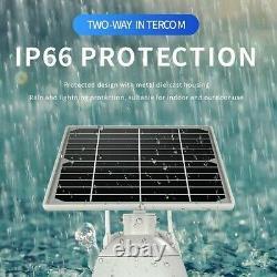 4g 1080p Hd Solar Power Ptz Ip Camera Security Cctv Waterproof Outdoor Cam