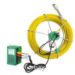 50M IP68 Waterproof Drain Pipe Sewer Inspection Camera System 7LCD 1000 TVL Cam