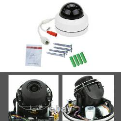 5MP Mini PoE IP PTZ Dome Camera 2.8-12mm IP66 4X Optical Zoom Speed Cam Outdoor