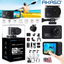 AKASO V50 Pro SE ACTION CAMERA 4K 20MP Touch Screen WIFI SPORT CAM UNDERWATER