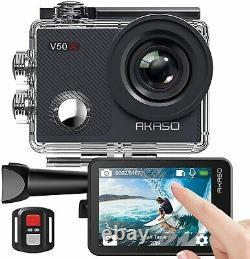 AKASO V50X Native 4K WiFi Action Camera Ultra HD Sports Cam DV Camcorder Filter