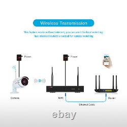 ANRAN 1080P Outdoor Security Camera System Wireless HDMI 8CH 1TB CCTV Waterproof