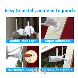 ANRAN 1080P WiFi Camera Security System Outdoor CCTV Audio 1TB HDD Home Wireless