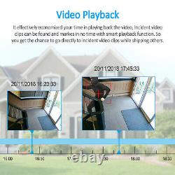 ANRAN 5MP CCTV Security Camera System 1920P Network POE Outdoor IP Home Kit IP66