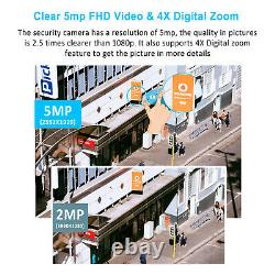ANRAN 5MP Home Wireless Security Camera System Outdoor 1/2TB Hard Drive CCTV Kit