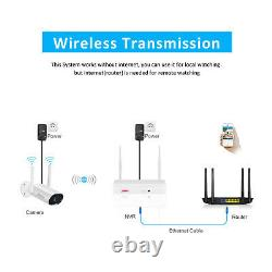 ANRAN 8CH Wireless Security Camera System 3.0MP Outdoor 2TB Hard Drive CCTV NVR