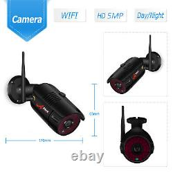 ANRAN Home Security Camera System Wireless 5MP CCTV Outdoor WiFi 8CH NVR 1TB HDD