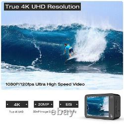 Action Cam WiFi 4K HD 20MP Waterproof Sports Camera Digital Cameras as Go Pro