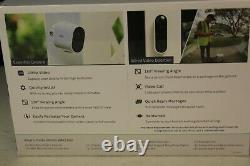 Arlo Essential Security Cam Bundle 2 Cameras 1 Video Doorbell Model #VMK2260