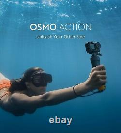 BRAND NEW DJI Osmo Action 4K Action Cam 12MP Digital Camera Dual Screen HDR