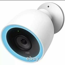BRAND NEW! Google NEST Cam IQ Outdoor Smart Security Camera (2-Pack) Open Box