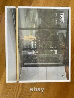BRAND NEW IN BOX Nest Cam IQ Outdoor Wireless Camera White (NC4101US)