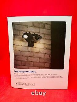 BRAND NEW RING FLOODLIGHT Camera Motion Activated OUTDOOR Security CAM- BLACK