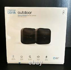Blink Outdoor 2 Cam Kit Wireless Weather Resistant HD Security Camera BRAND NEW