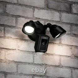 Brand New Ring Floodlight Cam Motion Activated Security Camera Black