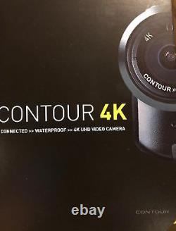 CONTOUR4K CONTOUR HD CAMERA 4K WATERPROOF HELMET CAM ACTION SPORTS RECORDER 32gb