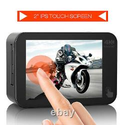 Campark V30A Native 4K Action Camera 20MP EIS Touch Screen WiFi Waterproof Cam