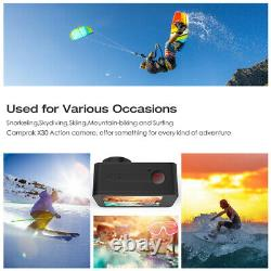 Campark X30 Native 4K 60fps Action Camera 20MP EIS Touch WiFi Waterproof Cam 40M