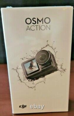 DJI OSMO Action Cam Digital Camera with 2 Displays 36FT/11M Waterproof 4K NEW