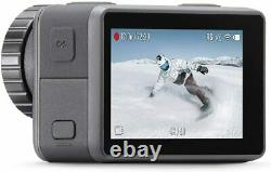 DJI Osmo 4K Action Cam 12MP Digital Camera with 2 Displays 36ft Underwater, Black