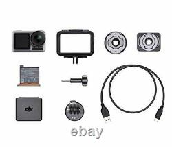 DJI Osmo Action Cam with 2 displays + Camera Accessories Set + 32GB microSD