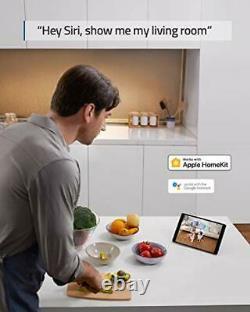 Eufy Security 1080P Indoor Cam Pan & Tilt, Plug-In Security Indoor Camera with