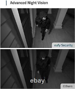 Eufy Security eufyCam 2 3-Cam Kit Wireless Home Camera System HD 1080p IP67