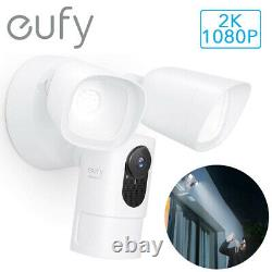 Eufy Smart Floodlight Camera 1080P/2K Outdoor Security AI Cam Motion-Activated