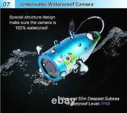 Eyoyo 9 Fish Finder Underwater Fishing Camera 50M 1000TVL CAM Infrared IR LED