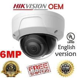 Hikvision(OEM) DS-2CD2163G0-I (NC326-TD-2.8) 6MP POE IR Outdoor IP CAM 2.8MM