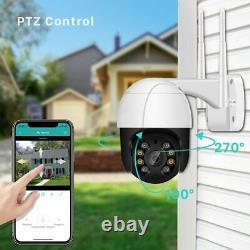 ICSEE 5MP HD IP CCTV Camera Waterproof Outdoor WiFi PTZ Security Wireless IR Cam
