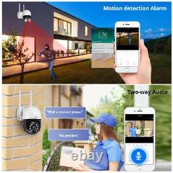 KERUI 3MP Outdoor WiFi Camera Waterproof Wireless WiFi IP Cam PTZ Digital Zoom