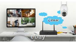 KERUI WIFI IP Security Camera Wireless Waterproof 2MP Smart PTZ Outdoor Cam