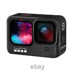 NEW GoPro HERO 9 Black Underwater Action Camera 5K with Sports Cam 128GB