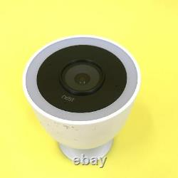 Nest Cam IQ Outdoor Smart Wi-Fi Security Camera A0055 (White) AS IS #PP0937
