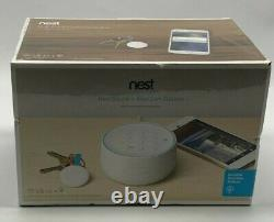 New Google Nest Secure Alarm System with Nest Cam Outdoor White (B01234-US)