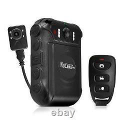 New Pyle PPBCM16 Compact Body & Portable HD Police Cam Camera Wireless