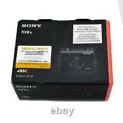 Original SONY DSC-RX0 II (RX0M2) Cyber-shot Camera Action cam 4K Waterproof