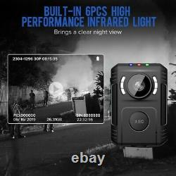 Police Body Camera Night Vision For Law Enforcement Mini Body Worn Cam 1080P