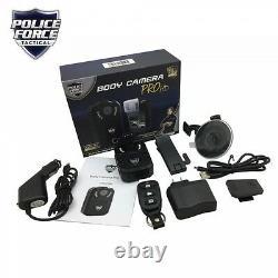 Police Force Tactical Body Camera/Dash Cam Pro HD PFBCPHD