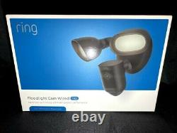 Ring Floodlight Cam Wired Pro Camera 3D Motion-Activated HD Security Black 2021